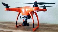 Autel Robotics X-Star Premium Orange Drone 4k Image