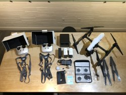 DJI Inspire 1 Pro Drone w/ Extras in Excellent Condition Image