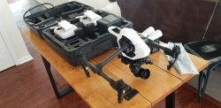 DJI Inspire 1 v2.0 RAW Zenmuse X5R 4K Camera and 3-Axis Gimbal Image