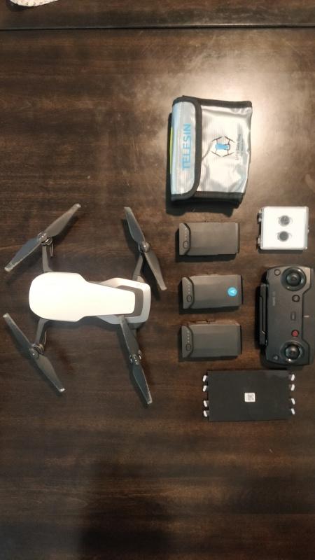 DJI Mavic Air Combo + ND Filters + Bags Image #1