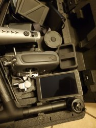 DJI Inspire 2, X4S, ClearSky 5.5, 6 Batteries, LNIB Image