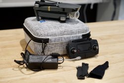 DJI Mavic Pro + 128GB Micro SD + Carrying Case Image