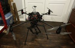 Aeronavics SkyJib X8 aerial system with Freefly Movi M10 gimbal Image