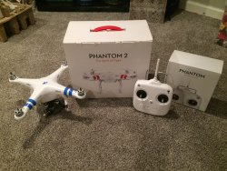 DJI Phantom two with gimbal and GoPro included Image
