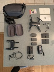 DJI Mavic Air Fly More Combo Onyx Black w/ remote control, case, and extras Image