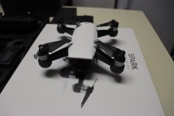 DJI Spark Controller Combo 1080p Camera Drone White/ 3 Total Batteries included Image #4