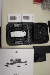 DJI Spark Controller Combo 1080p Camera Drone White/ 3 Total Batteries included Image #2