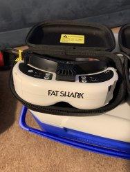 2 pairs of FatShark goggles. (HDO & Dom v3) Image #2
