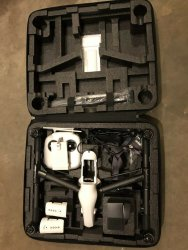 DJI INSPIRE 1 V2.0 WITH ZENMUSE X3 4K CAMERA & DJI CASE Image