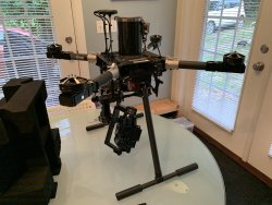 Documentary Movie Video Production Drone for Panasonic GH4 or Sony A7 or better with Independent Gimbal remote control Image #4