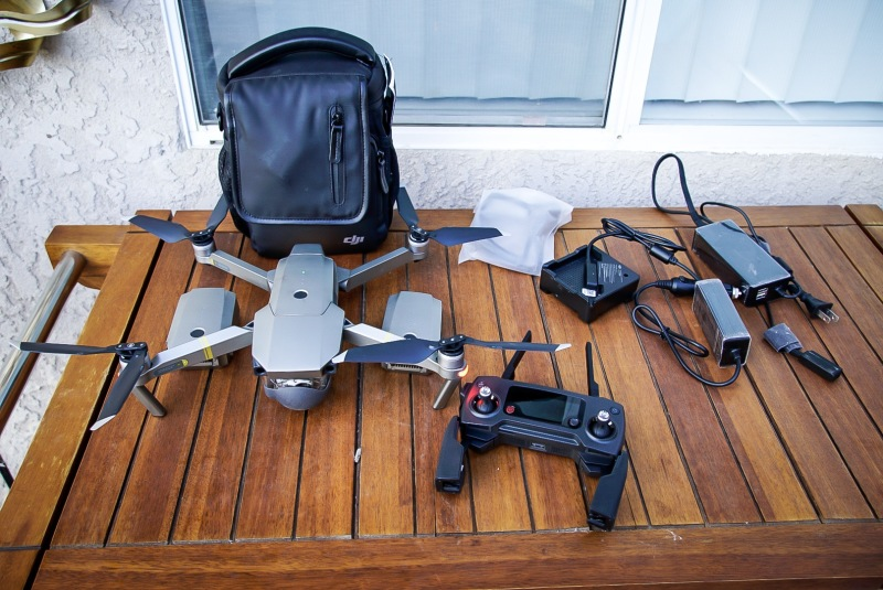 DJI Mavic Pro Fly More Combo Image #1