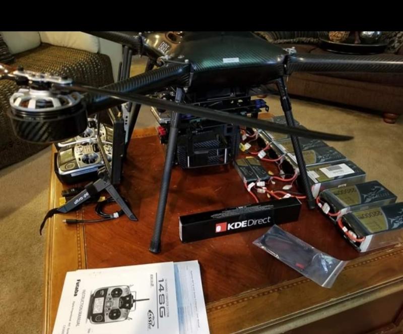 Eagle XF/UAV America Multi rotor drone Image #1