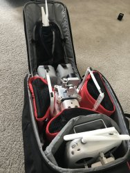 DJI Phantom 3 Advanced + Manfrotto backpack Image #2