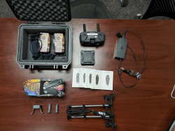 DJI Mavic Pro with Accessories and Extra Props Image