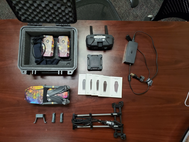 DJI Mavic Pro with Accessories and Extra Props Image #1