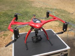 HALO | Infrared Thermal Aerial UAV System (With ICI 8640P (640 X 512) IR Camera & 30X Zoom Cannon) Image