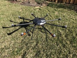 Large Octocopter for Industrial, Research, or Pro DIY Hobby Use (Open to Offers) Image