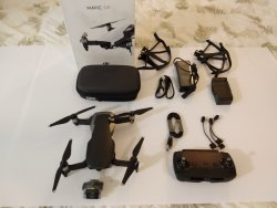 DJI Mavic Air Quadcopter Kit - MINT CONDITION (Onyx Black) Image