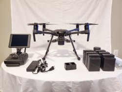 "DJI M210 v2.0 like new, includes 7"" Crystalsky & Cendence Image"