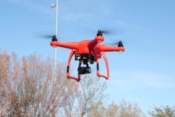 AUTEL ROBOTICS X-STAR ORANGE DRONE 4K Image