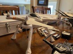 2 QR X350 Pro Drones W/ Gear Image