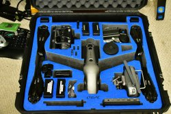 DJI INSPIRE 2 TRAVEL MODE CASE FOR CENDENCE, CRYSTALSKY Image