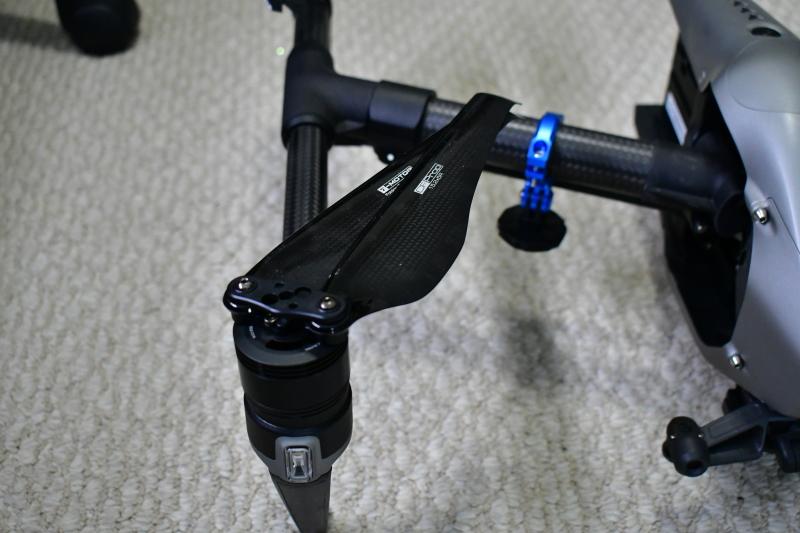 T-Motor Folding Props - Winglet Style - Custom for DJi Inspire 2 Image #1