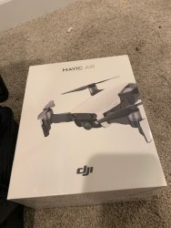 Brand new in box Mavic Air Onyx Black with like new fly more package Image #2