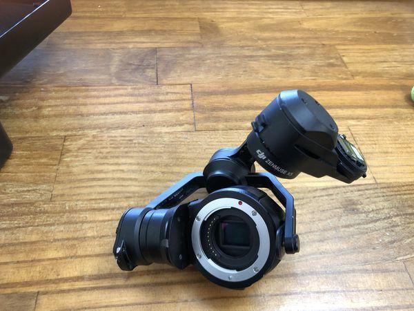 DJI X5 camera for parts or repair Image #1