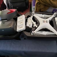 Lightly used DJI Phantom 4 PRO V2 with racing goggles and much more Image #1