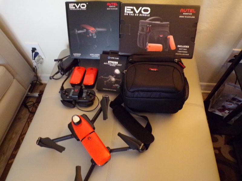 Autel-Evo & Fly More Kit Image #1