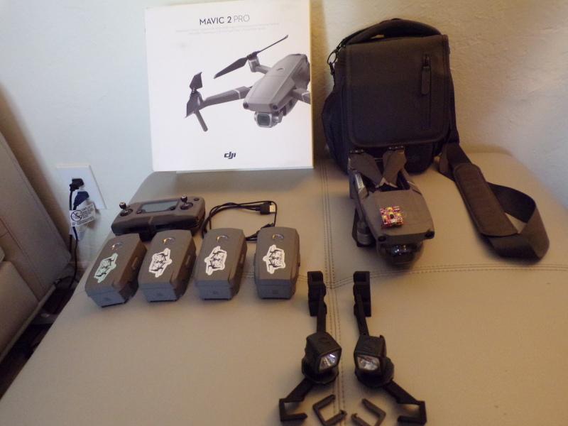 Dji Mavic-2 Pro & Fly More Kit Image #1