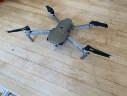 DJI Mavic Pro Platinum with extra bettery, 64 GB SD Card, Drone Bag, Controller, and charging equipment Image #4