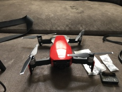 Barely Used Red Mavic Air Fly More Combo F/S Image #2