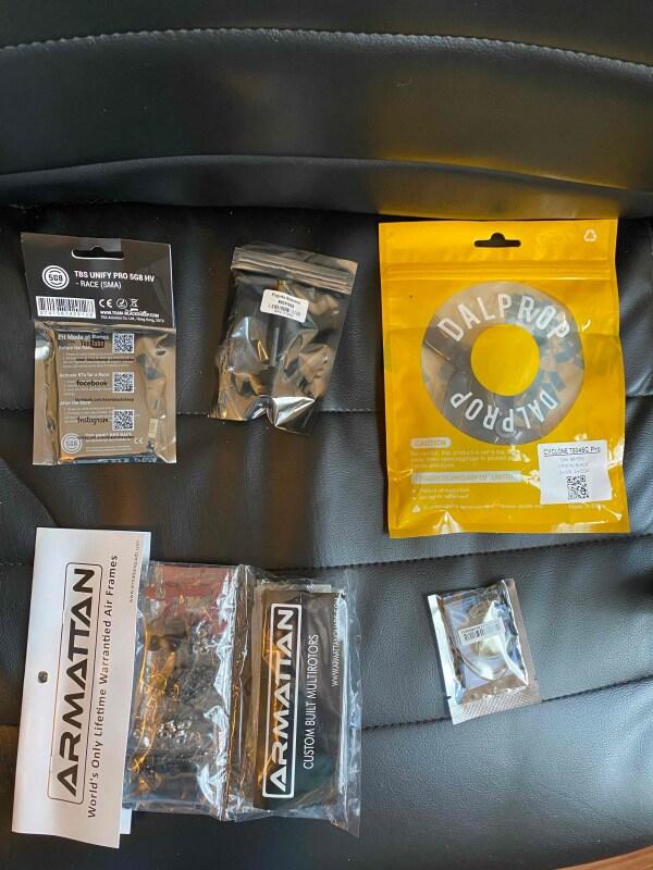 Full FPV kit + Armattan Armadillo frame Image #1
