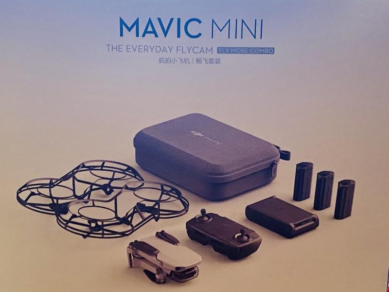 Mavic Mini Fly More Combo Image #1