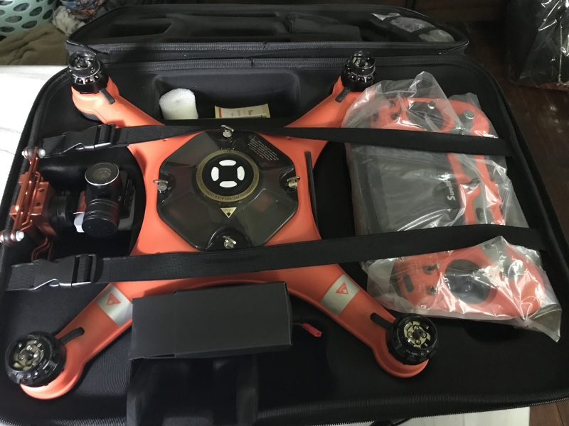 I have 2 Swell Pro drones one camera is broken and the other legs are broken they both still can fly. My son just went with something else Image #1