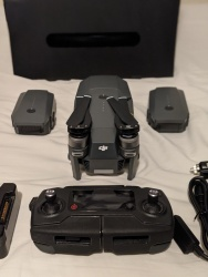 Mavic Pro Fly More Combo (w/ only 2 working batteries). Used - Like New. Image #2