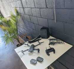 MAVIC PRO - 3 batteries, prop guards, bag, good condition $950 Image