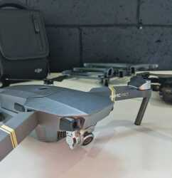MAVIC PRO - 3 batteries, prop guards, bag, good condition $950 Image #4