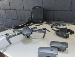 MAVIC PRO - 3 batteries, prop guards, bag, good condition $950 Image #2