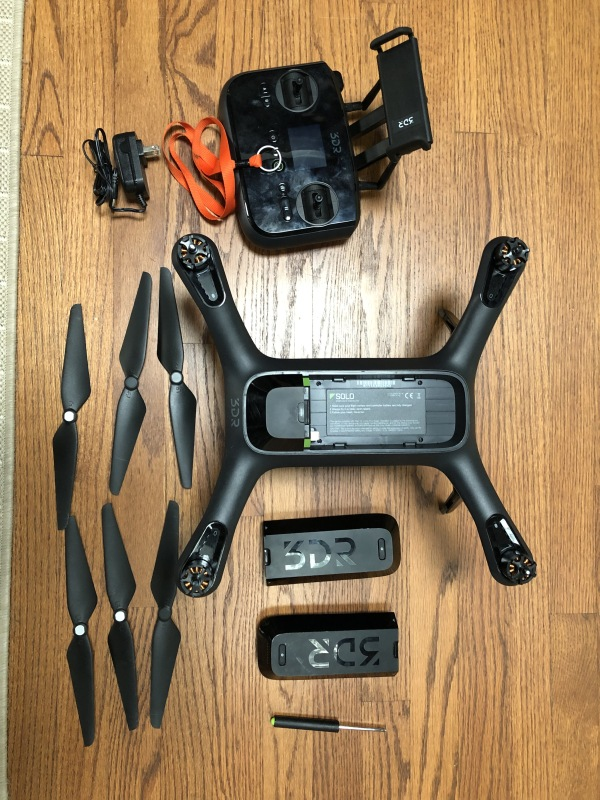 3DR Solo Quadcopter (GoPro Gimbal included) Image #1