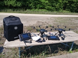 His and Hers Special. 2 Yuneec Typhoon H Hexacopter Drones. Image