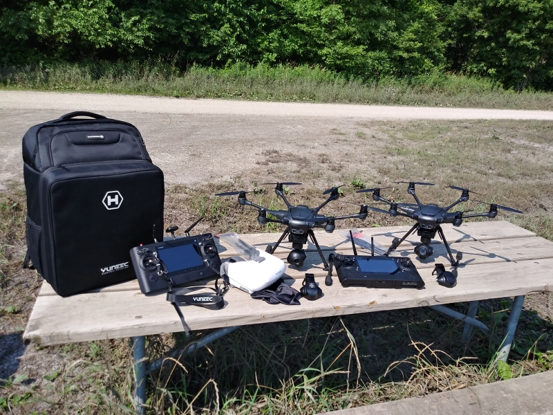 His and Hers Special. 2 Yuneec Typhoon H Hexacopter Drones. Image #1