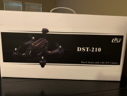 DST-210 Racer Drone with 5.8G FPV Camera Image