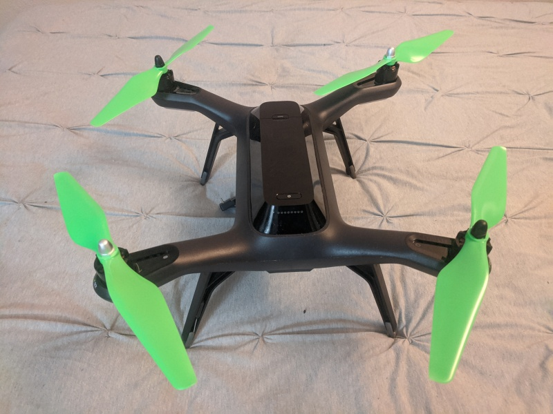 3DR solo for sale with backpack, 3 batteries, extra rotors Image #1