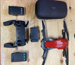 Mavic Air with all accessories and Pelican waterproof case Image