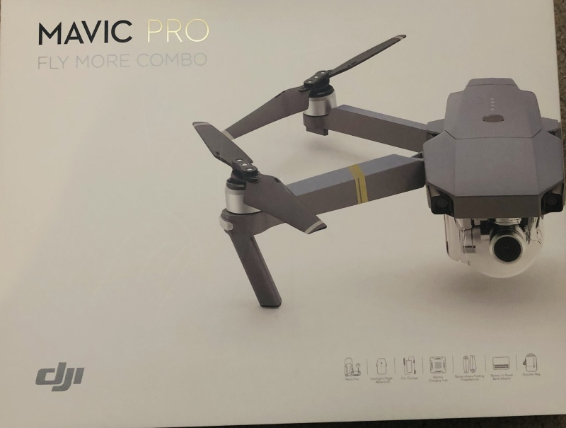 DJI Mavic Pro with Fly Combo Kit Image #1