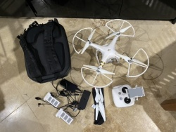 Phantom 3 Pro with all of the accessories Image