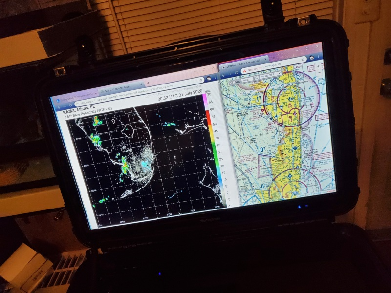 Mobile search and rescue / VO command center with Chrome book PC Image #1